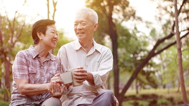 お年寄り夫婦 介護にプラス